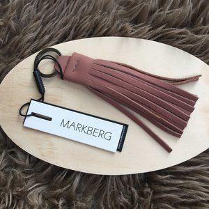 NWT Danni Tassel leather key chain